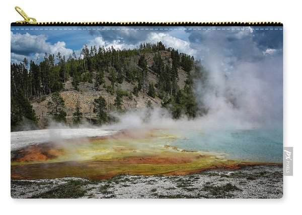 Yellowstone Colors #13 Carry-all Pouch