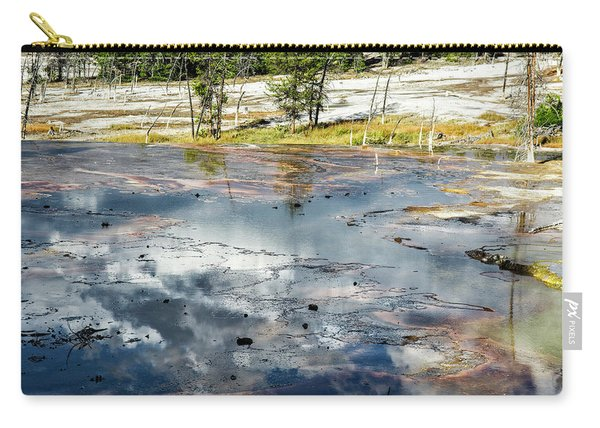 Yellowstone Colors #4 Carry-all Pouch