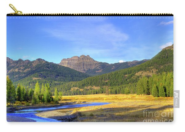 Yellowstone National Park Landscape Carry-all Pouch