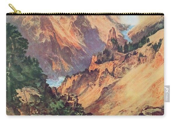 Yellowstone Park Carry-all Pouch