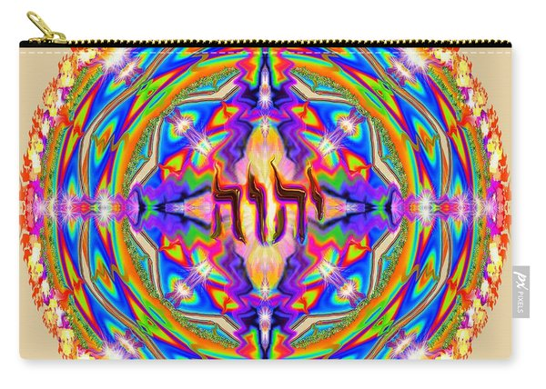 Yhwh Mandala 3 18 17 Carry-all Pouch