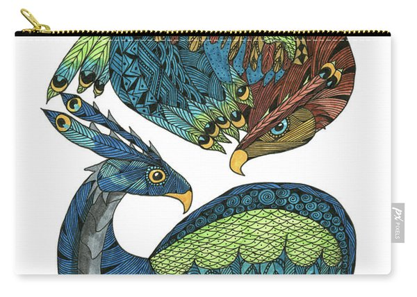 Yin Yang Dragons Carry-all Pouch
