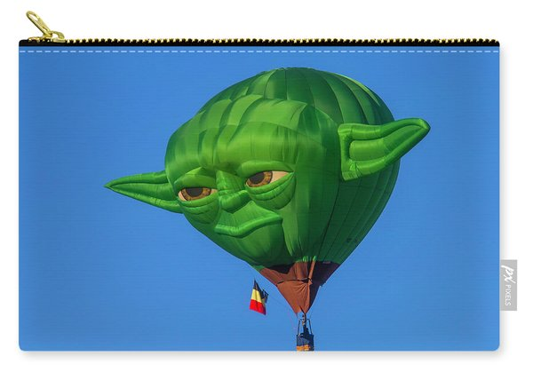 Yoda Hot Air Balloon Carry-all Pouch