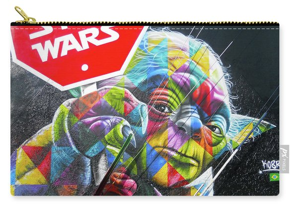 Yoda - Stop Wars Carry-all Pouch