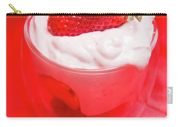 Yoghurt And Berry Dessert Carry-all Pouch