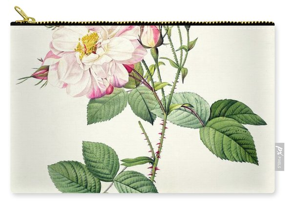 York And Lancaster Rose Carry-all Pouch