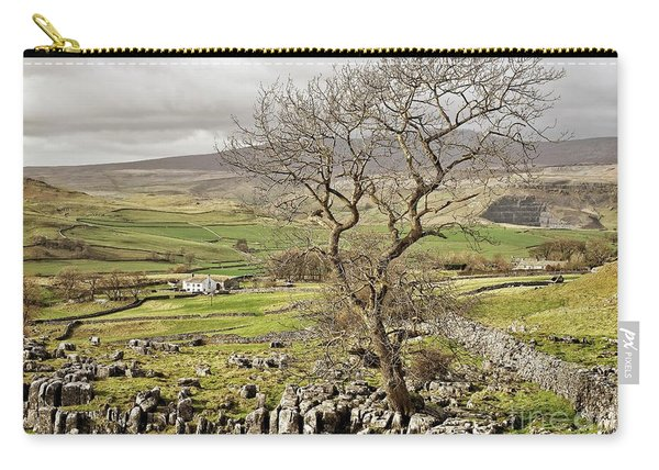 Yorkhire Dales Limestone Landscape Carry-all Pouch