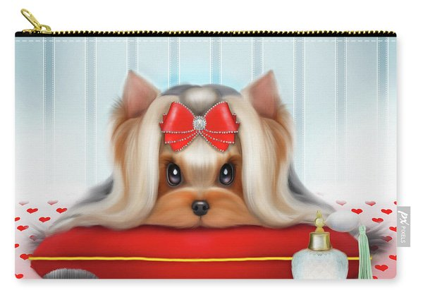 Yorkie Beauty Carry-all Pouch