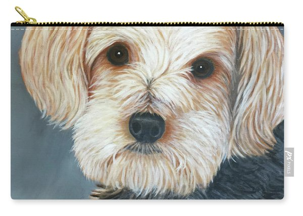 Yorkie Portrait Carry-all Pouch