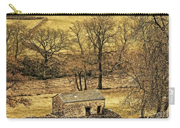 Yorkshire Dales Stone Barn Carry-all Pouch