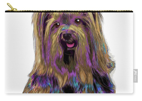 Yorkshire Terrier Pop Art Carry-all Pouch