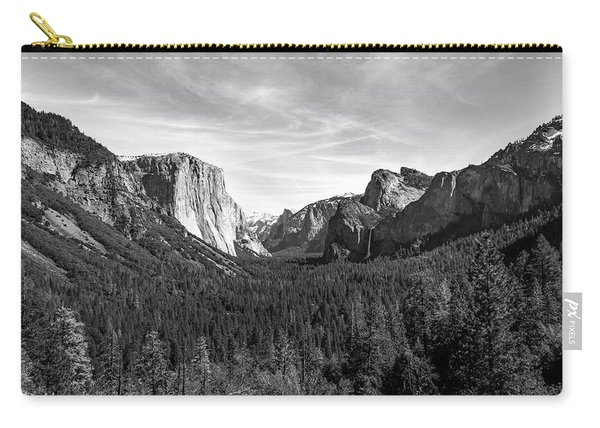 Yosemite B/w Carry-all Pouch