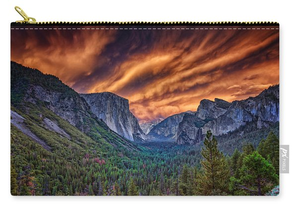 Yosemite Fire Carry-all Pouch