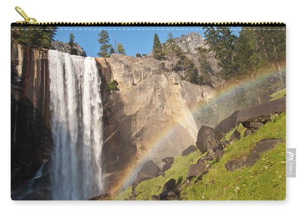 Yosemite Mist Trail Rainbow Carry-all Pouch