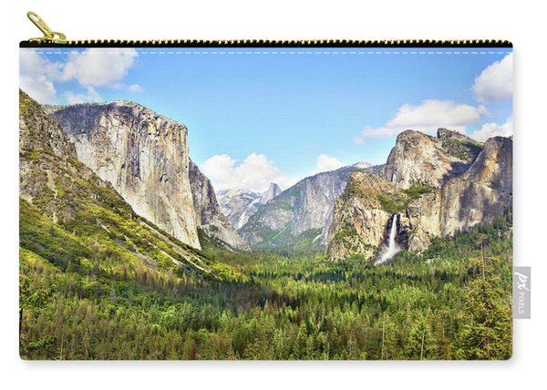 Yosemite Tunnel View Afternoon Carry-all Pouch