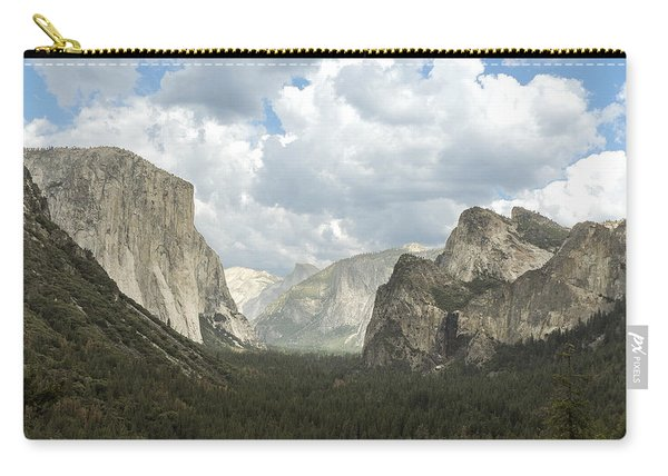 Yosemite Valley Yosemite National Park Carry-all Pouch