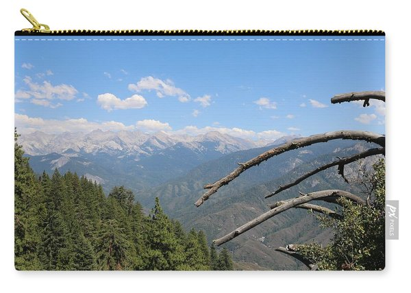 Carry-all Pouch featuring the photograph Yosemite View  by Christy Pooschke