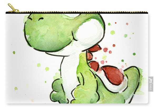 Yoshi Watercolor Carry-all Pouch