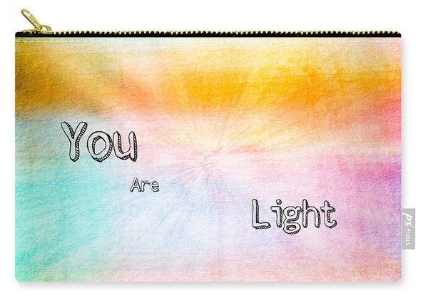 You Are Light Carry-all Pouch