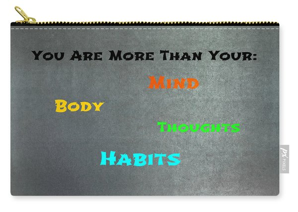 You Are More #3 Carry-all Pouch
