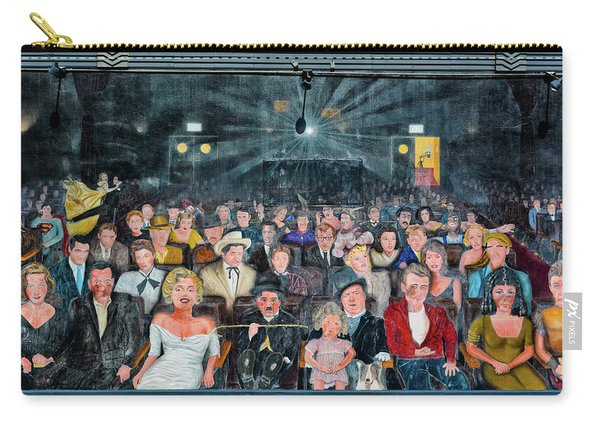 You Are The Star Mural Hollywood Carry-all Pouch