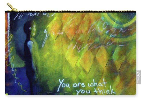 You Are What You Think Carry-all Pouch