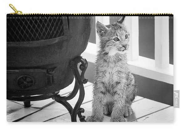 Carry-all Pouch featuring the photograph You Say Somethin by Tim Newton