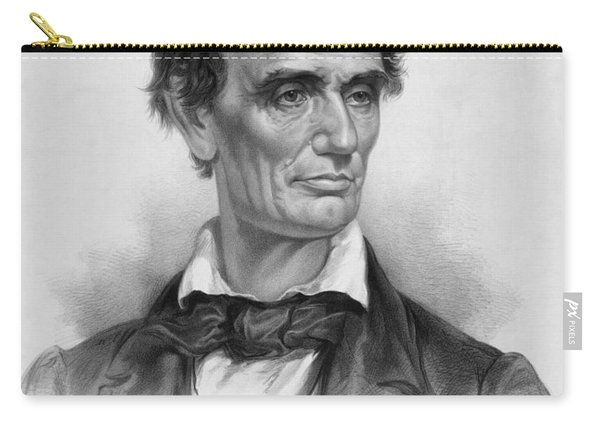 Young Abe Lincoln Carry-all Pouch