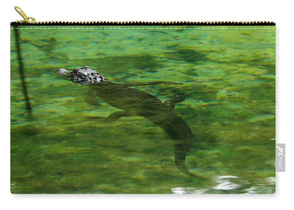 Young Alligator Carry-all Pouch