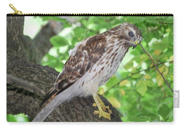 Young Red Shouldered Carry-all Pouch