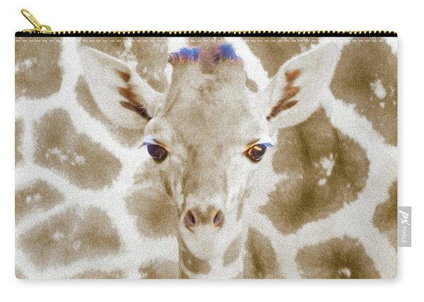Young Giraffe Carry-all Pouch
