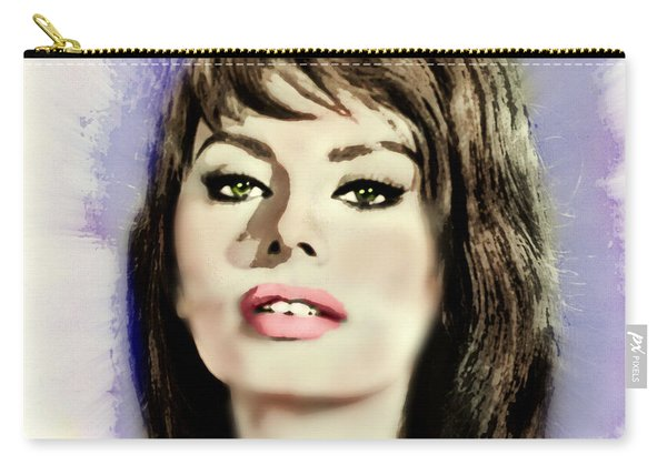 Young Glamorous Sophia Carry-all Pouch