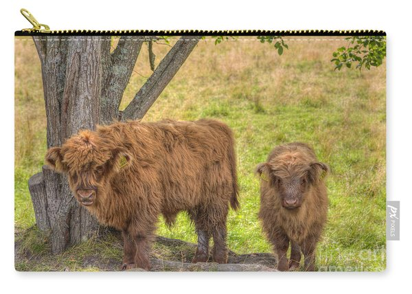 Young Highland Carry-all Pouch