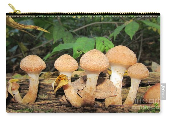 Young Honey Mushrooms Carry-all Pouch