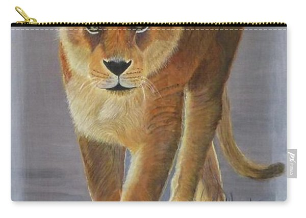 Young Male Lion Carry-all Pouch