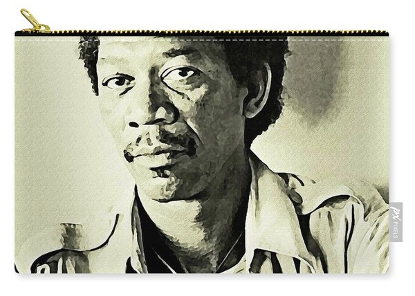 Young Morgan Freeman Carry-all Pouch
