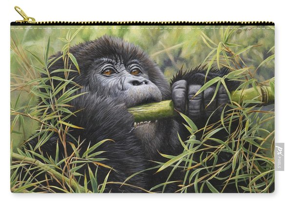 Young Mountain Gorilla Carry-all Pouch