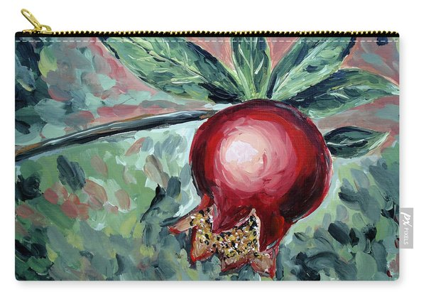 Young Pomegranate Carry-all Pouch
