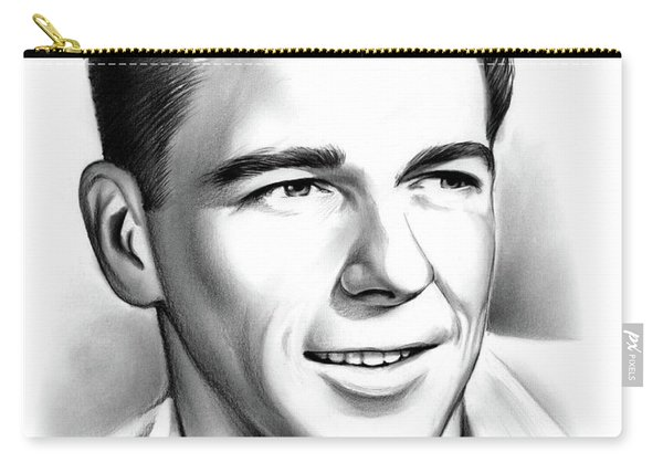 Young Reagan Carry-all Pouch