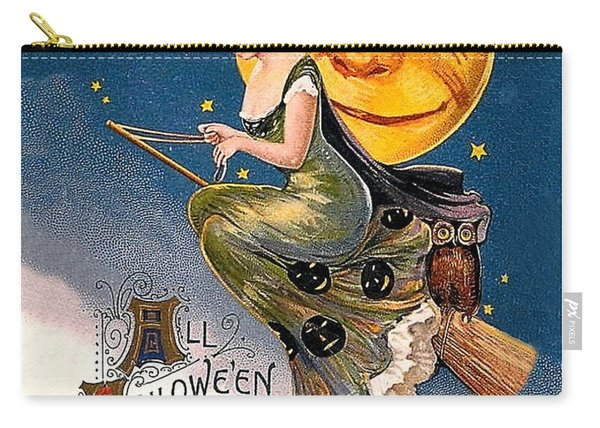 Young Witch Ride Carry-all Pouch