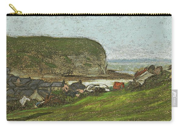 Yport And The Falaise D'aval Carry-all Pouch