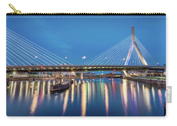 Zakim Bridge And Charles River At Dawn Carry-all Pouch