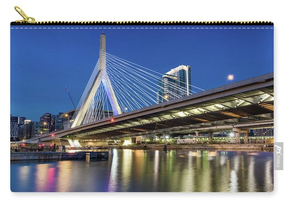 Zakim Bridge And Charles River Carry-all Pouch