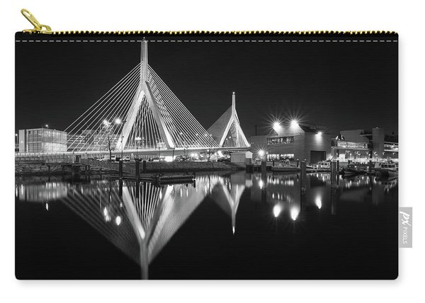 Zakim Bridge From Lovejoy Wharf Carry-all Pouch