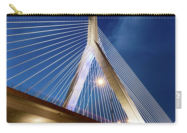 Zakim Bridge Upclose Carry-all Pouch