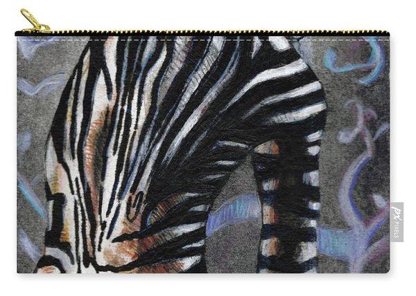 Zebra Boy At Dawn Carry-all Pouch