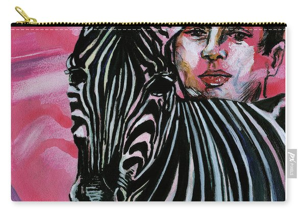Zebra Boy Squared  Carry-all Pouch