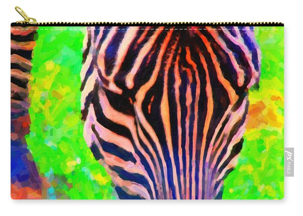 Zebra . Photoart Carry-all Pouch