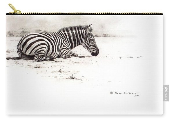 Zebra Sketch Carry-all Pouch