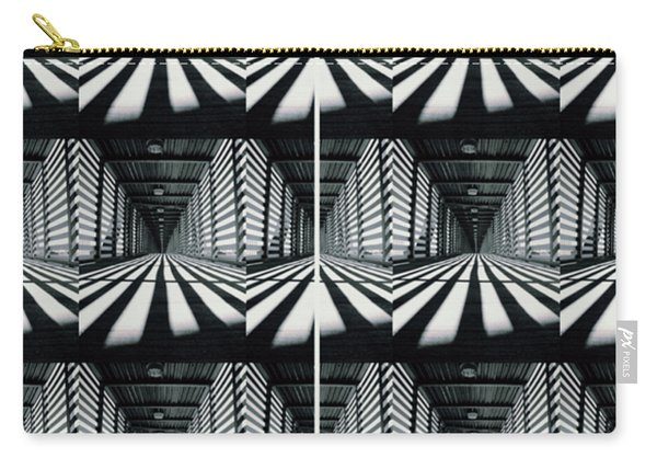 Zebras  Crossing Art Carry-all Pouch